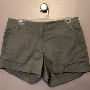 J.Crew Butterfly Twill Shorts